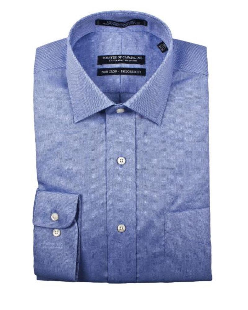 Forsyth Forsyth of Canada Blue Non-Iron Dress Shirt