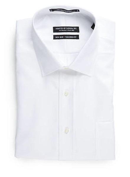 Forsyth White Non-Iron Dress Shirt