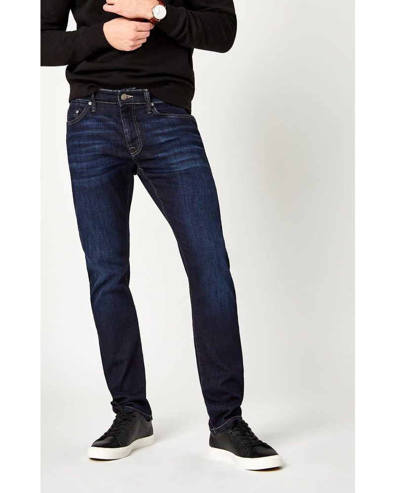 Mavi Jeans Jake Slim Leg Rinse Brushed Williamsburg