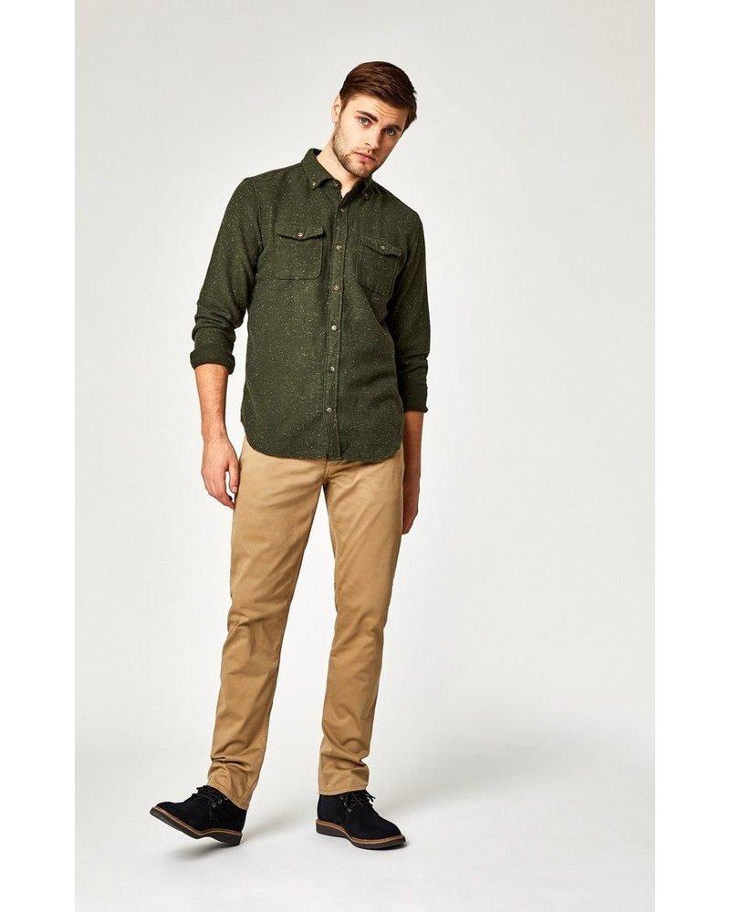 Mavi Jeans Zach Straight Leg British Khaki Twill