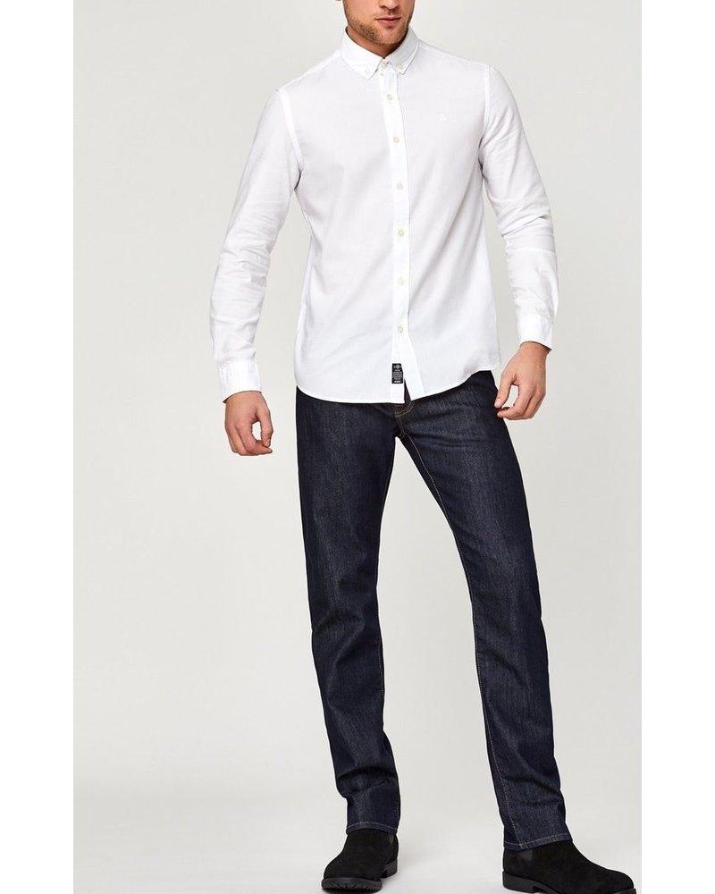 Mavi Jeans Zach Straight Leg Rinse Williamsburg