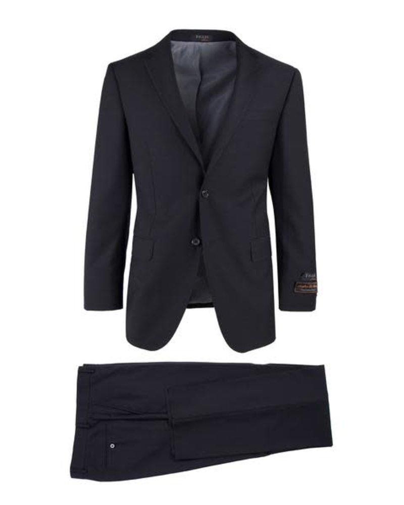 Tiglio Tiglio Novello Black Modern Fit Suit