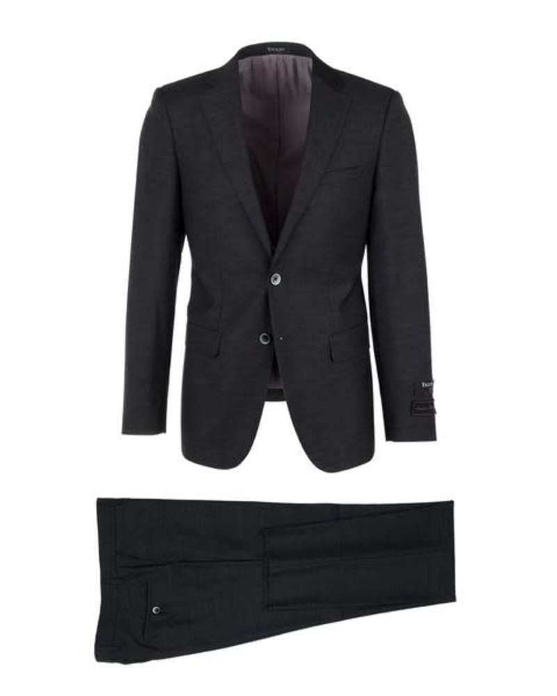 Tiglio Tiglio Porto Charcoal Slim Fit Suit