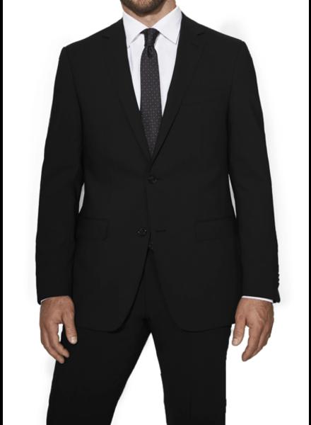 S Cohen Modern Fit Black Smart Suit