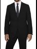 S Cohen S. Cohen Modern Fit Black Smart Suit