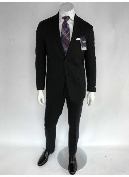 Hart Schaffner Marx New York Fit Black Suit