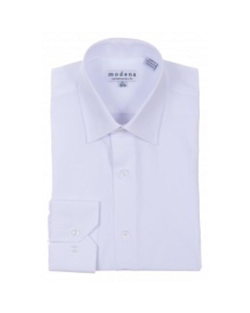 Modena White Dress  Shirt