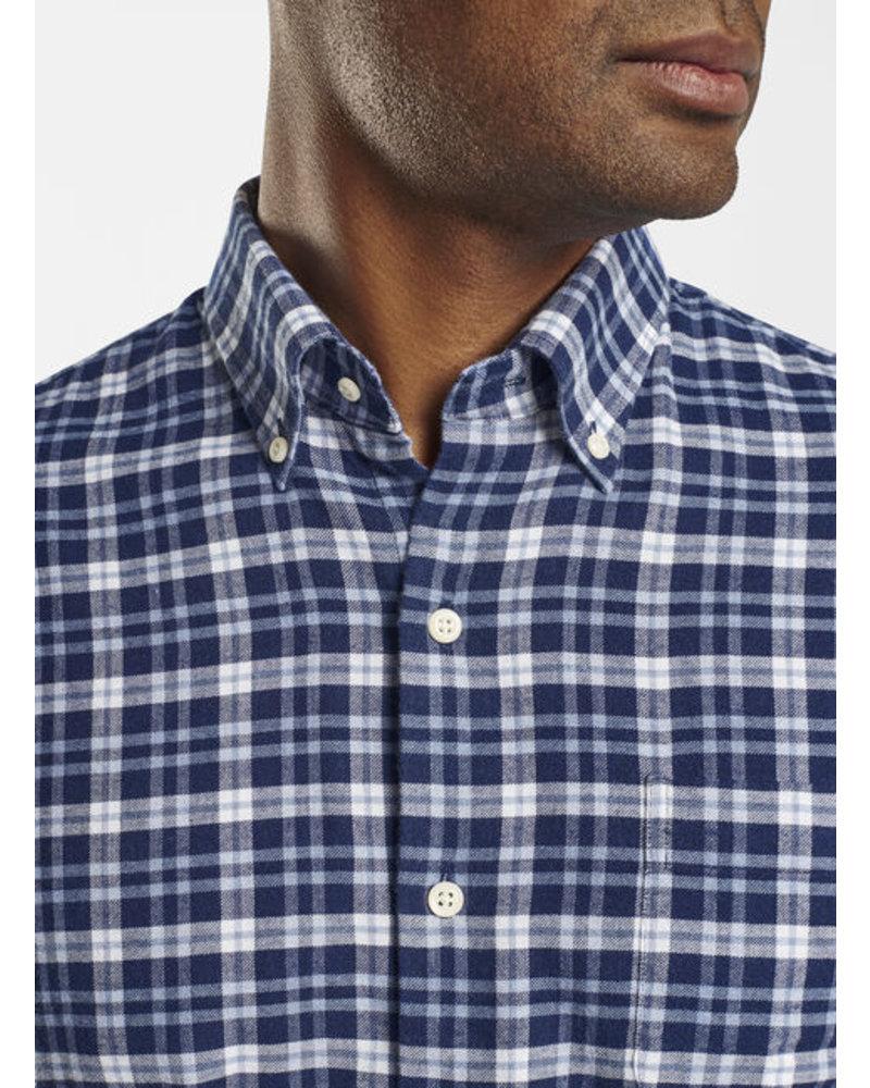 Peter Millar Gus Flannel Sport Shirt