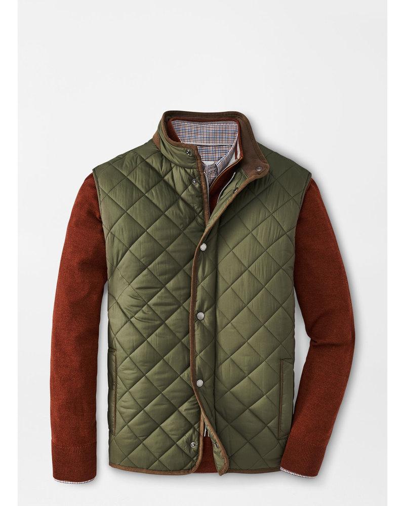 Peter Millar Essex Quilted Travel Vest