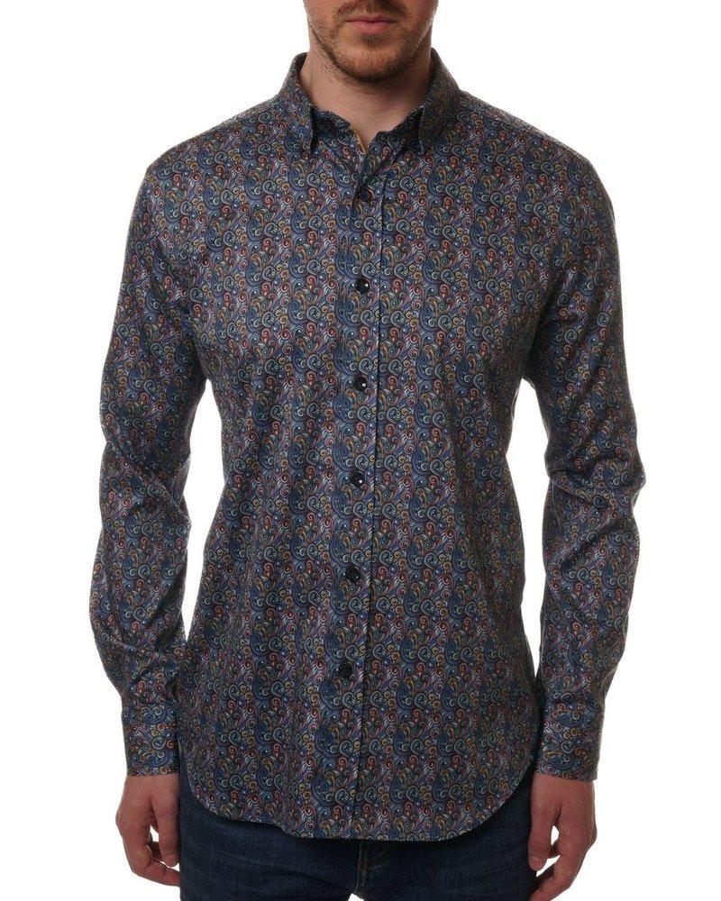 Robert Graham Meyrick Long Sleeve Sport Shirt
