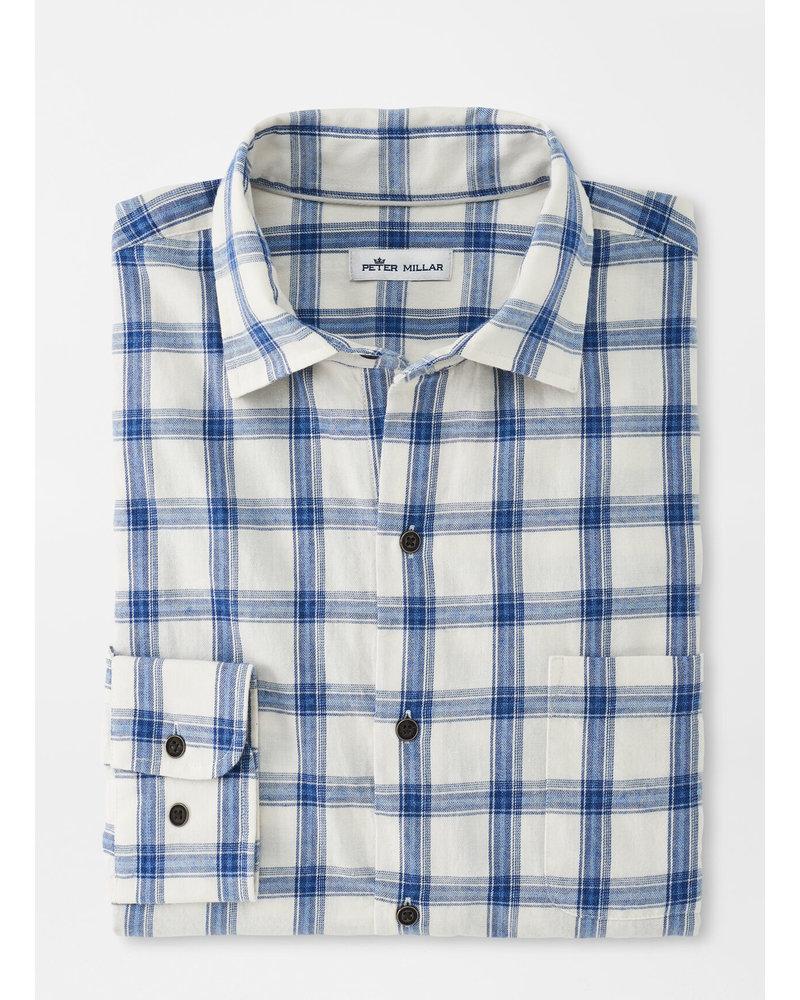 Peter Millar Steinbach Cotton Sport Shirt