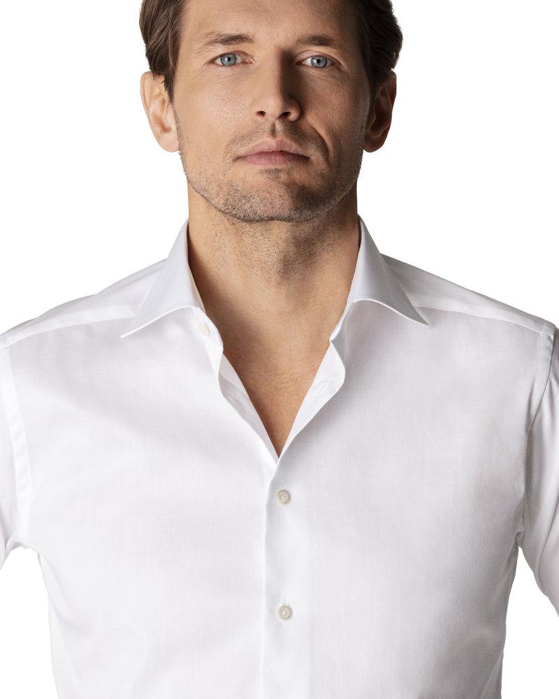 ETON White Signature Twill Shirt