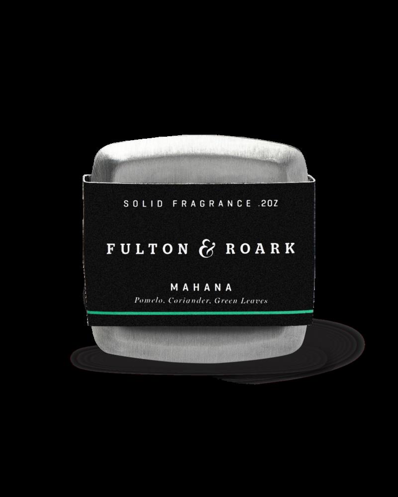Fulton & Roark Solid Fragrance Mahana