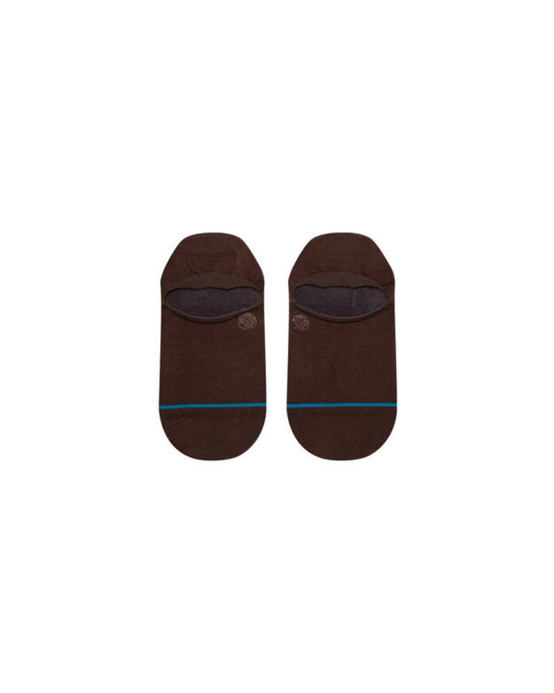 Stance Icon No Show Socks Brown