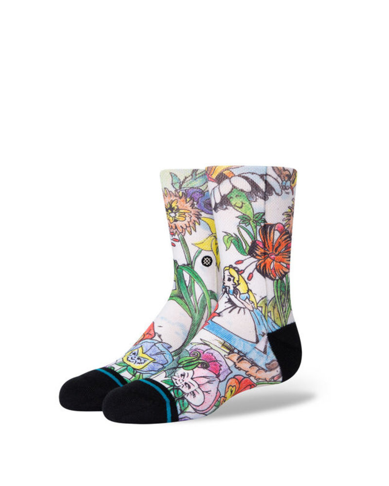 Stance Alice In Wonderland Golden Afternoon Kids Crew Socks