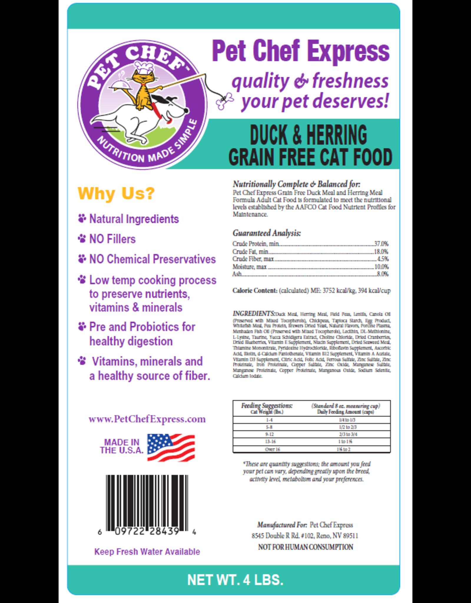 PCE Grain Free Duck Herring Cat 4#