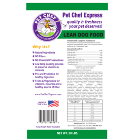 Pet Chef Express PCE Lean