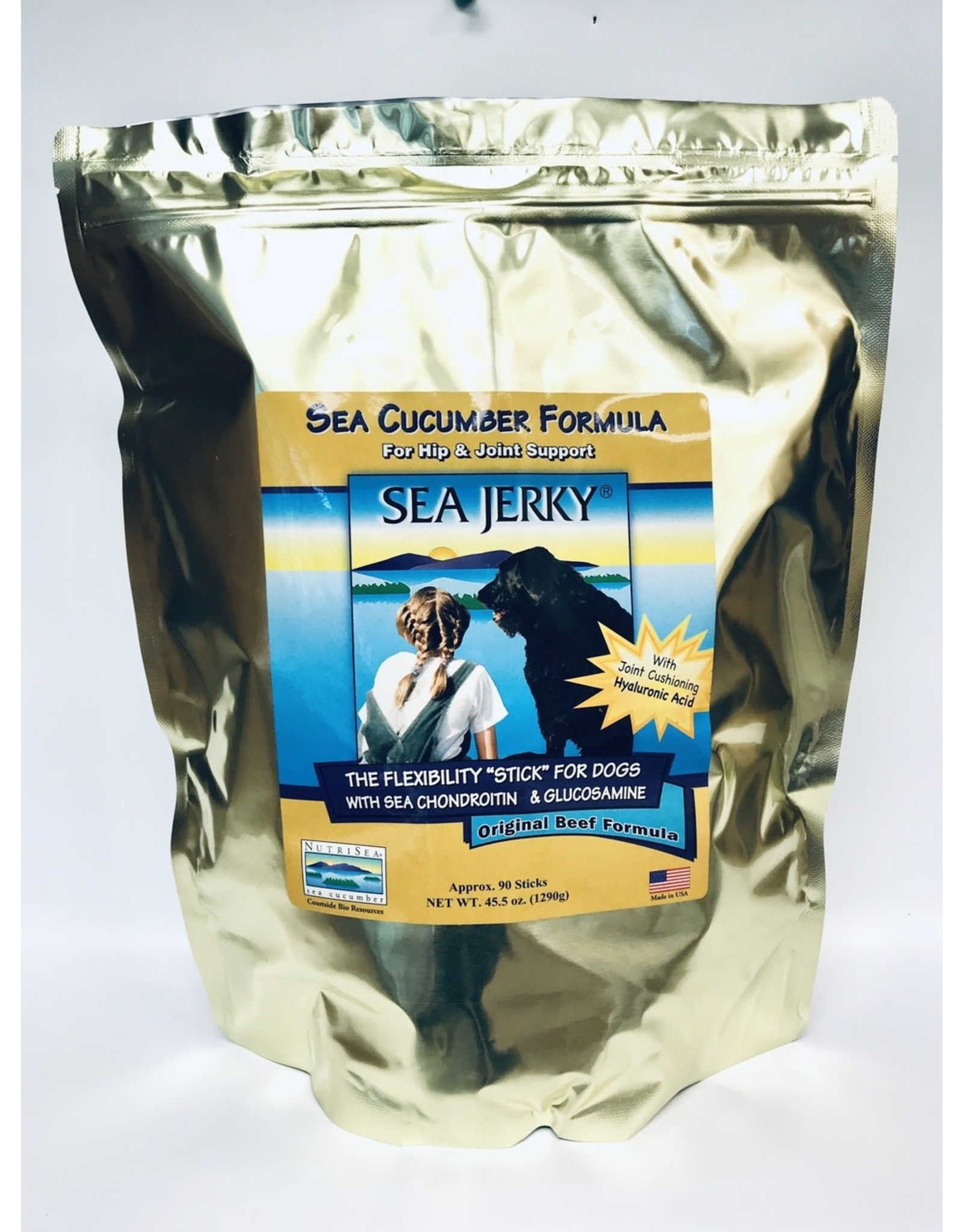 Coastside Bio Resources, NutriSea Sea Jerky Bulk Beef 90 Sticks