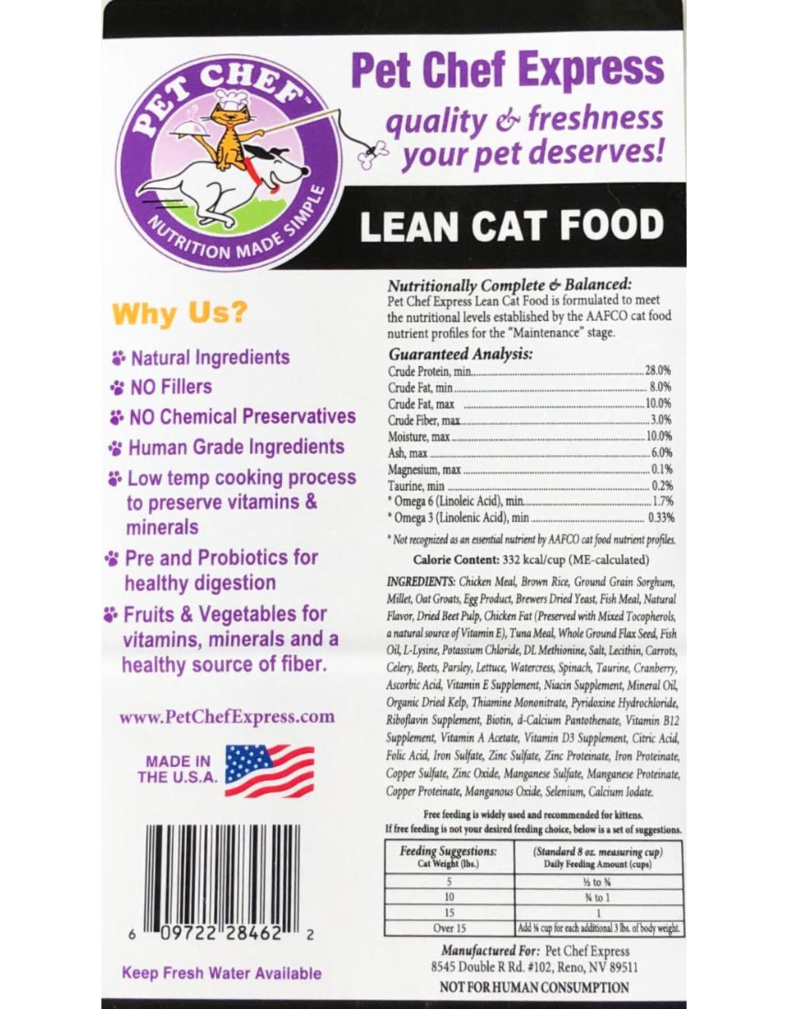 Pet Chef Express Pet Chef Lean Cat
