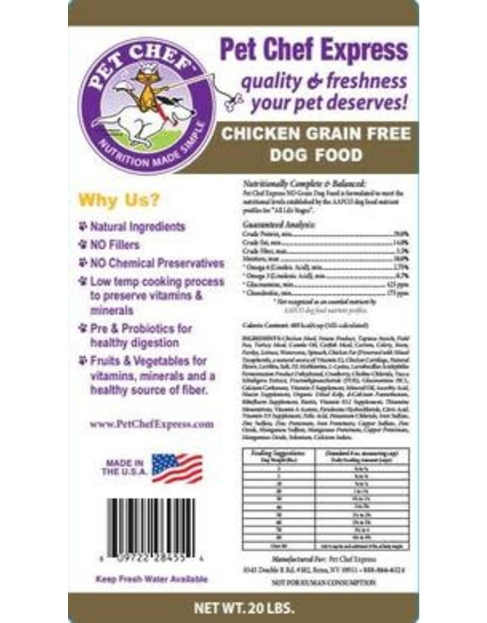 Pet Chef Express PCE Grain Free Chicken & Field Pea
