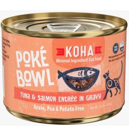 Koha Koha Poke Bowl Tuna & Salmon Cat Food