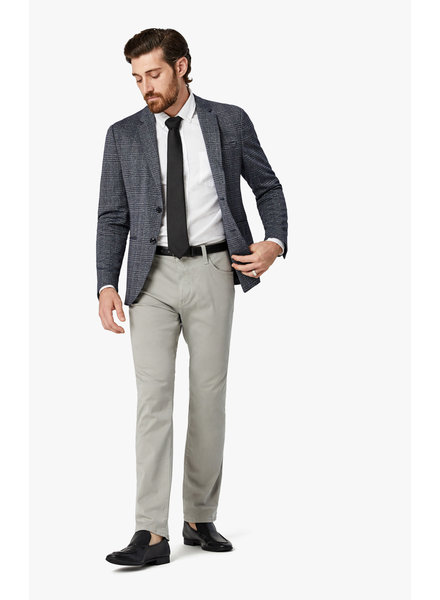 34 Heritage Courage Straight Leg Pants in Grey Twill