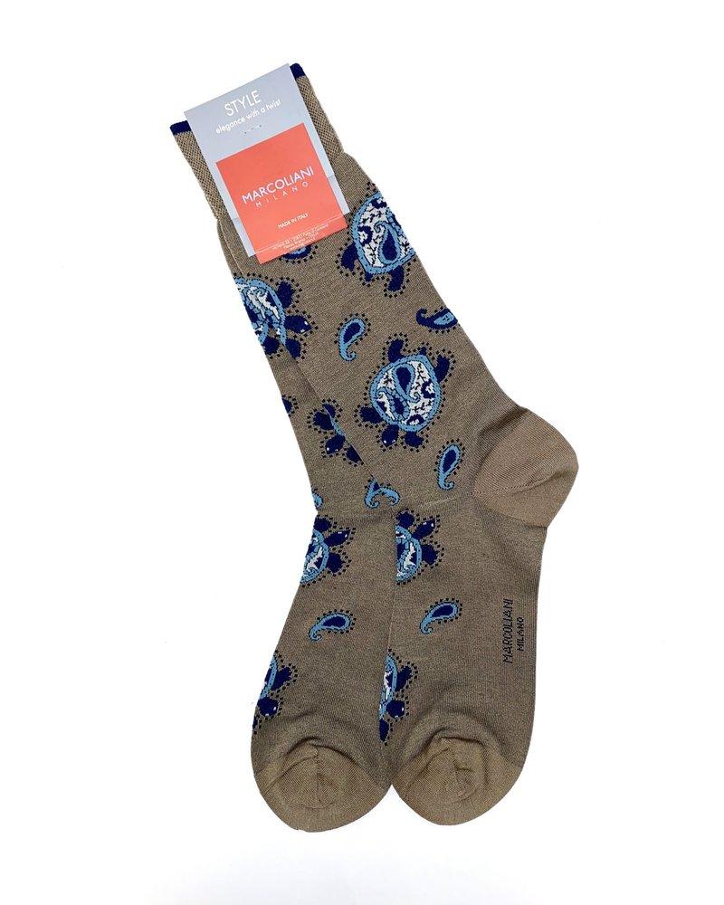 Marcoliani Marcoliani Paisley Socks