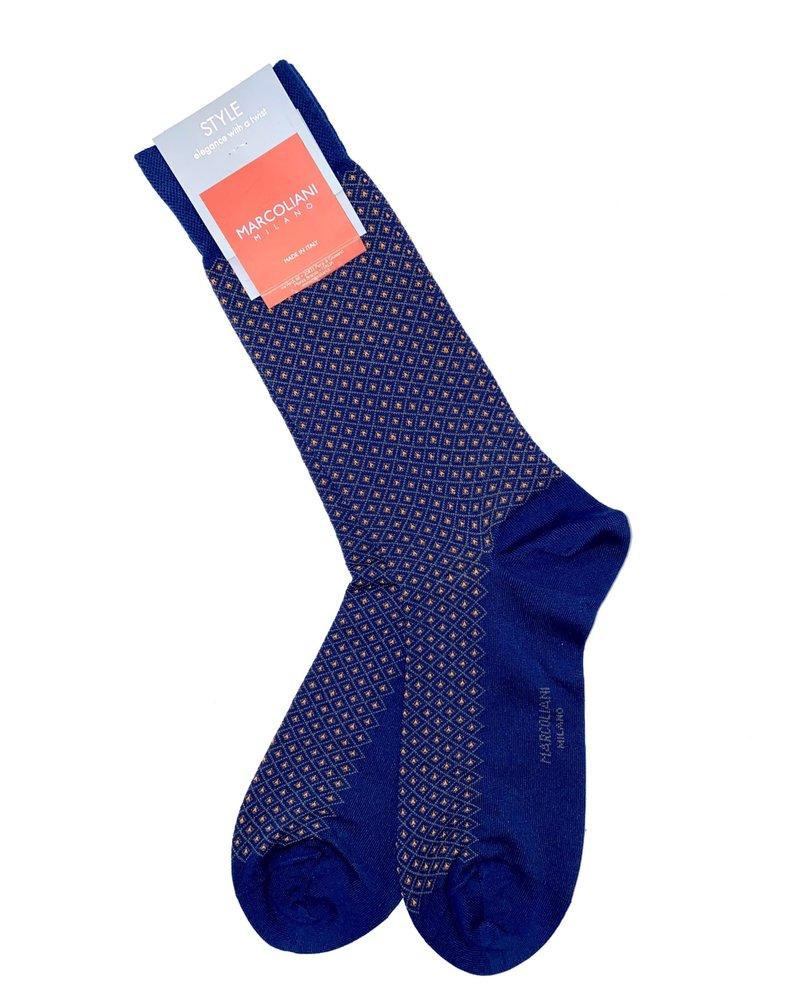 Marcoliani Marcoliani Micro Print Socks