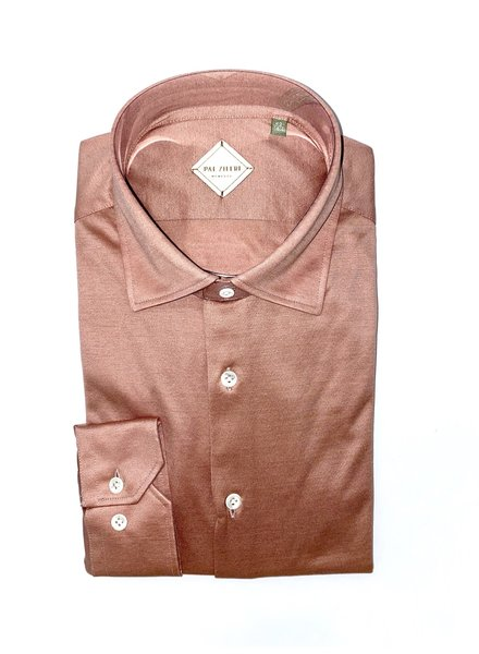 Pal Zileri Jersey Cotton Shirt With Italian Collar