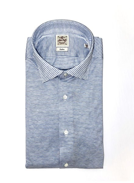 Alex Ingh Horizontal Striped Jersey Shirt