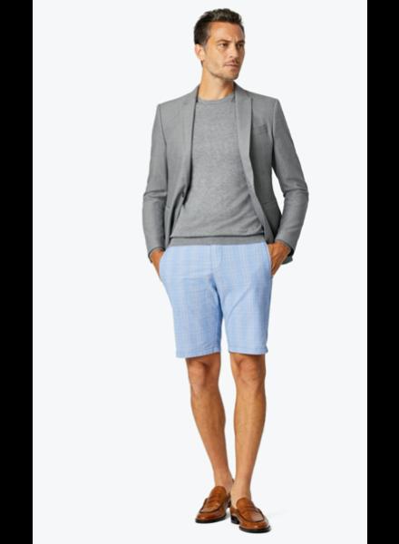 34 Heritage Arizona Shorts - Blue Checked Seersucker Shorts