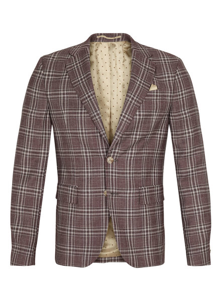 Sand Star Napoli Plaid Jacket