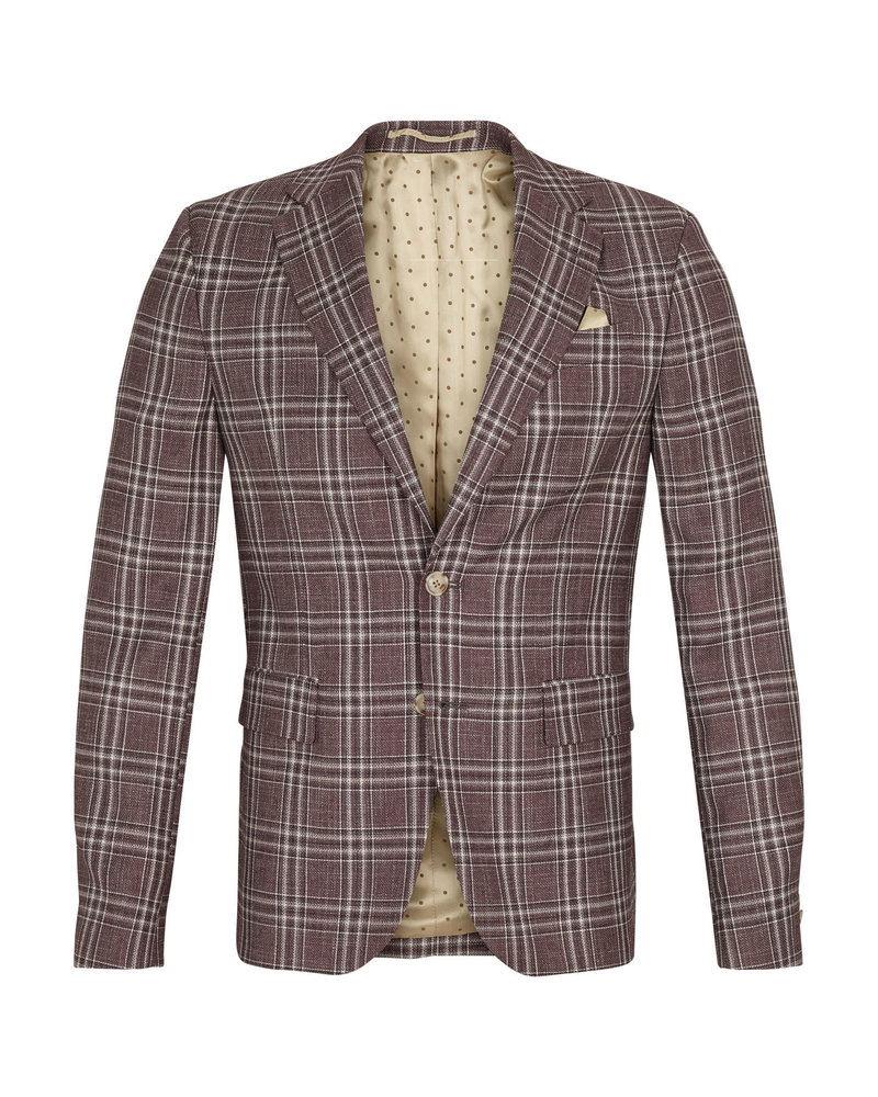 Sand Sand Star Napoli Plaid Jacket