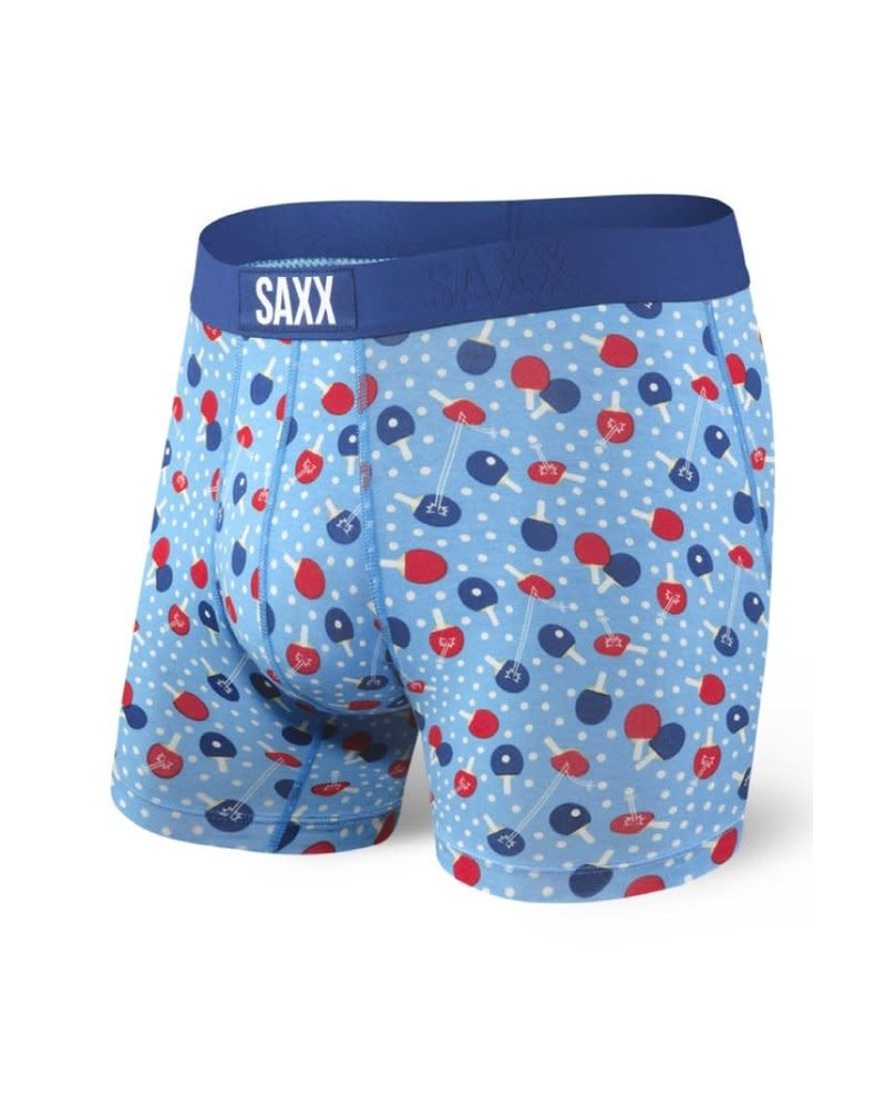 SAXX VIBE Boxer Brief / Blue Ping Pong