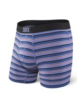 SAXX VIBE Boxer Brief / Purple Coast Stripe