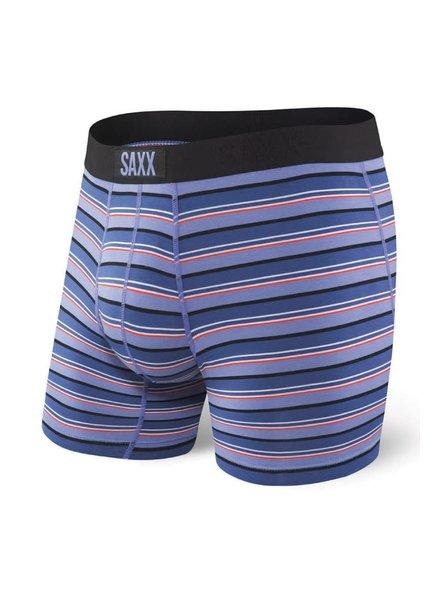 SAXX VIBE Boxer Brief / Purple Coast Stripe