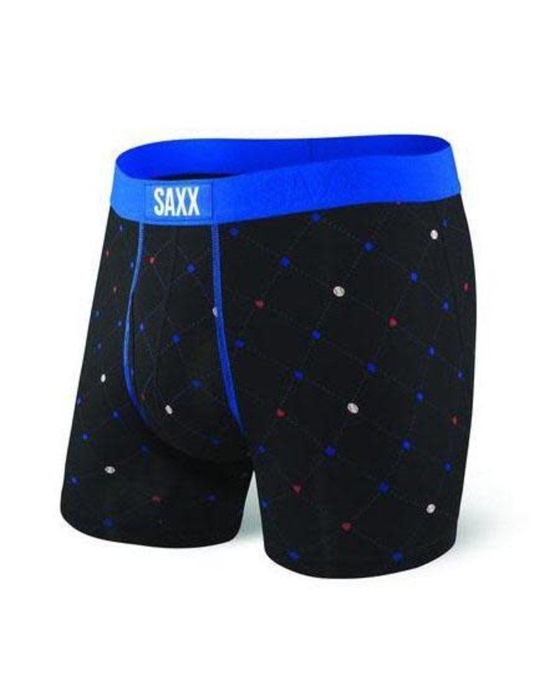 SAXX ULTRA Boxer Brief / Black Diamond Check