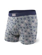 SAXX ULTRA Boxer Brief / Grey Heather Marlins