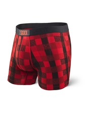 SAXX VIBE Boxer Brief / Red Lumberjack Plaid