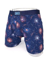 SAXX ULTRA Boxer Brief / Navy Firework