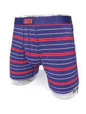SAXX ULTRA Boxer Brief / Navy Summit Stripe