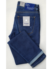Re-Hash Cotton Power Stretch Washed Denim