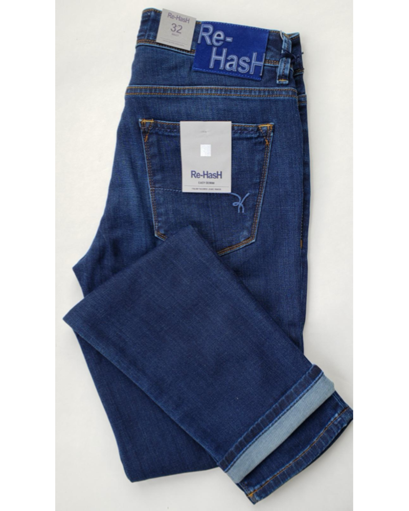 Re-Hash Re-Hash Cotton Power Stretch Washed Denim