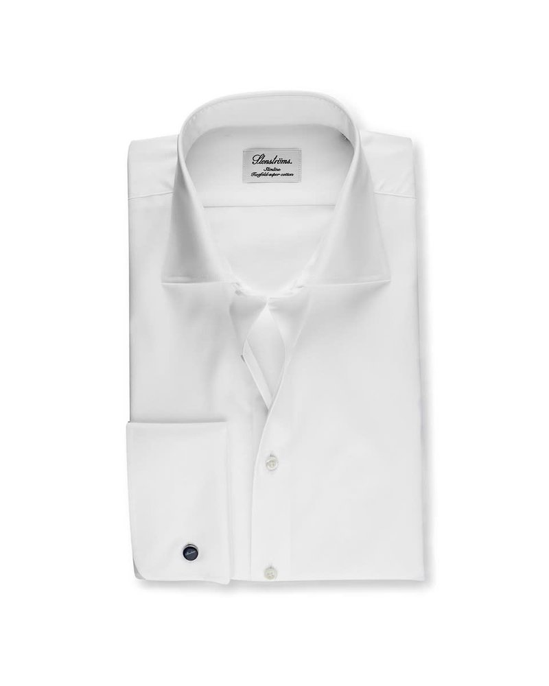Stenstroms Slimline Shirt With French Cuffs Superior twill