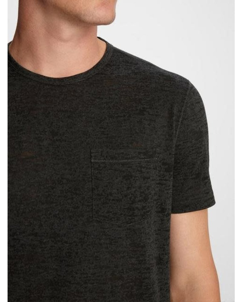 John Varvatos John Varvatos  Burnout Crew Neck T Shirt