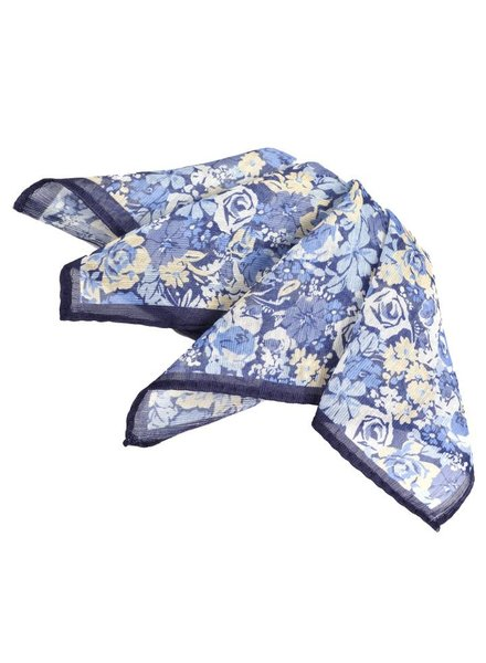Dion Cluster Floral Pocket Square