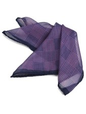 Dion Glencheck Pocket Square