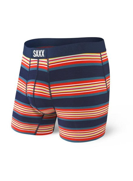 SAXX ULTRA Boxer Brief / Navy Banner Stripe