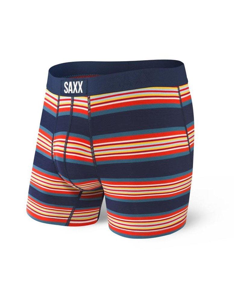 SAXX ULTRA Boxer Brief / Navy Banner Stripe