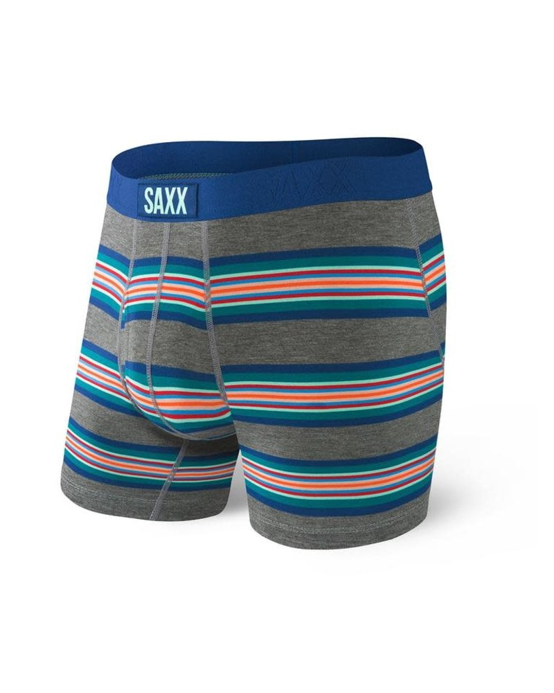 SAXX ULTRA Boxer Brief / Grey Banner Stripe